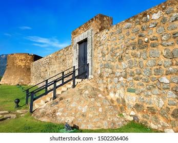 The castle of Puerto Plata