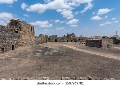 Castle Qazr Al-Azraq - one of the Jordan desert castles. Used by Lawrence of Arabia as a base during the Arab Revolt.