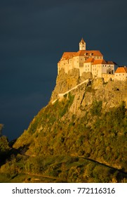 Castle Riegersburg in Austria at Sunset