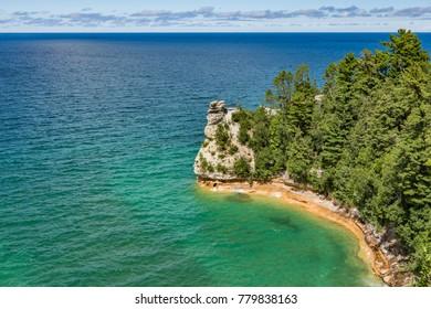 Castle Rock on Lake Superior