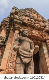 Castle rocks in the Northeast of Thailand Prasat Phanom Rung travel in Buriram thailand