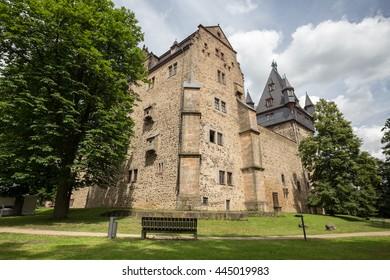 castle romrod hessen germany