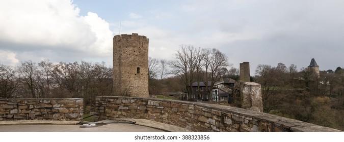 castle ruin blankenberg sieg germany