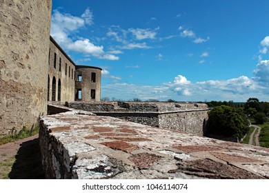 castle ruin Borgholm on Oland island, Sweden