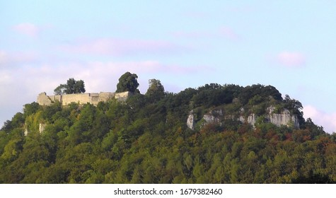 Castle Ruin Hohenurach, Bad Urach, BaWü, Germany