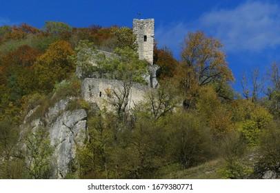 Castle Ruin Hundersingen, Hundersingen, BaWü, Germany