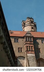 castle ruin ronneburg in Germany