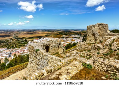 Castle ruins of Medina-Sidonia.