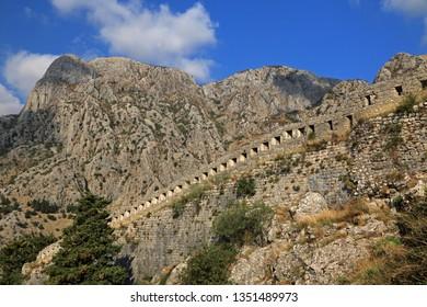 Castle Of San Giovanni, Kotor, Bay of Kotor, Boka Kotorska, Montenegro