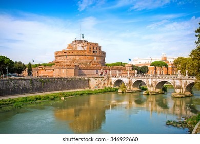 Castle Sant Angelo in Rome, Italy
