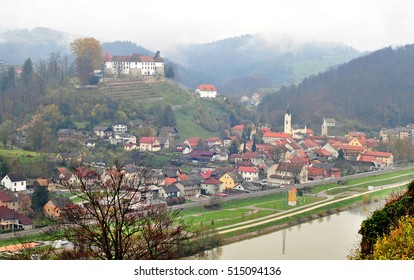 Castle in Sevnica, Slovenia, childhood town of Melania Trump