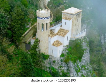 The Castle - Sicily - Erice - Italy