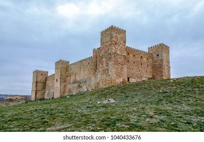 Castle of Siguenza Guadalajara province Castilla-Leon Spain