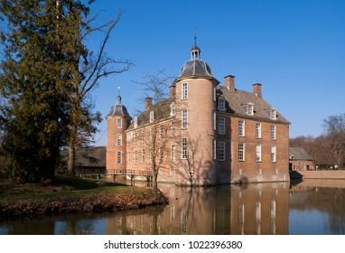 Castle Slangenburg near Doetinchem in the Dutch region Achterhoek