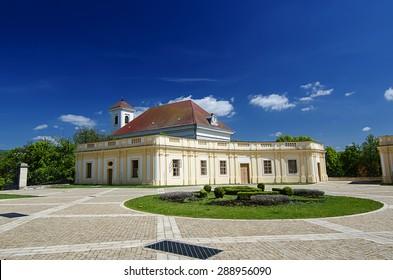 Castle in Slavkov - Austerlitz near Brno, Czech Republic