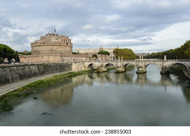 Castle St. Angelo in Rome Italy