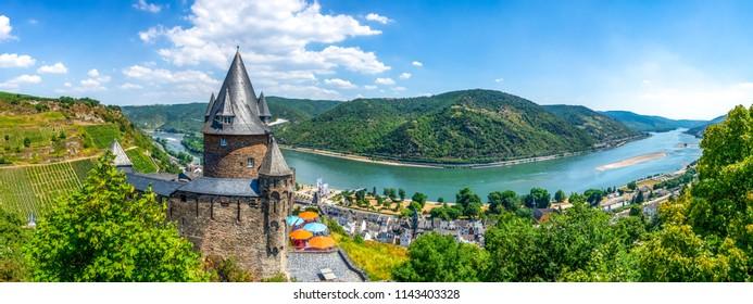 Castle Stahleck, Bacharch, Germany