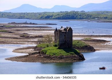 Castle Stalker, Argyll, Scottish Highlands