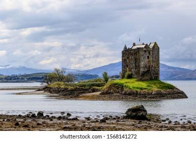 Castle Stalker near Appin Scotland