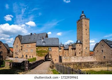 Castle, Steinau an der Strasse, Germany  - Shutterstock ID 1722939961