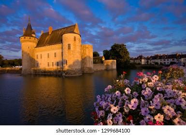 The castle of sully-sur-loire, Castle of the Loire, France