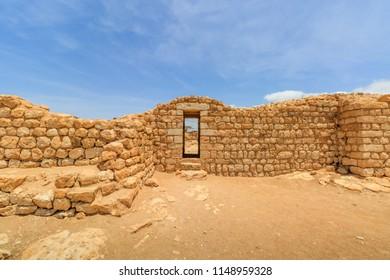 Castle of Sumhuram, Salalah, Dhofar, Sultanate of Oman.  Archaeological site near Salalah in the Dhofar region of modern Oman.