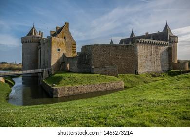Castle of Suscinio near Vannes