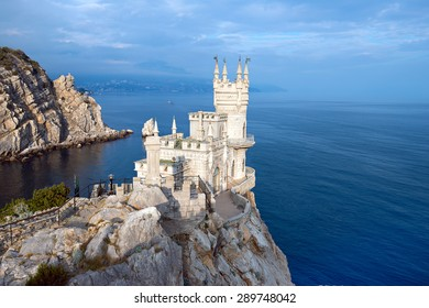 "Castle ""Swallow's Nest."" The symbol of Crimea."