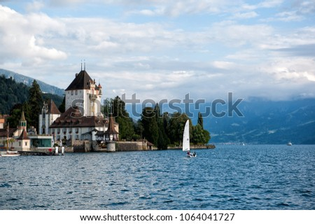 Castle in Switzerland