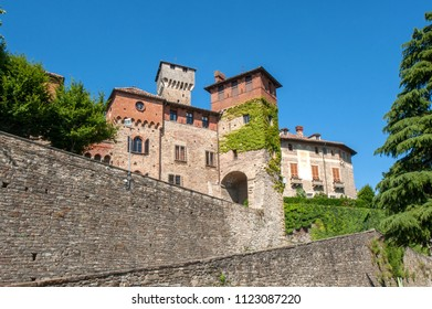 the castle of Tagliolo Monferrato in the countryside