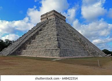Castle temple, Chichen Itza, Mexico
