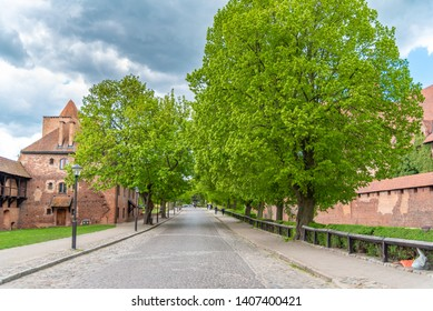 Castle of the Teutonic Order in Malbork is a 13th-century castle located near the town of Malbork, Poland. It is the largest castle in the world.