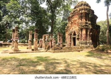 Castle  in Thailand  : Don tuan  castle historical park