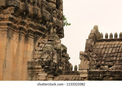 Castle in Thailand. Phimai Historical Park Located in Phimai District. It is a building of Hinduism.