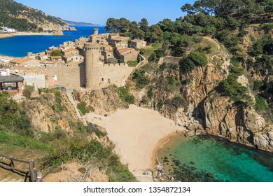 Castle of Tossa de Mar, Girona, Spain