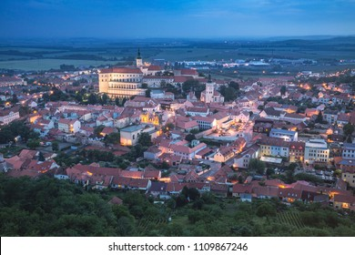 Castle is in the town of Mikulov, South Moravia, Czech Republic