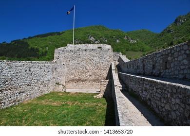 The castle in Travnik, Bosnia and Herzegovina
