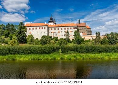 Castle in Trebic near Jihlava