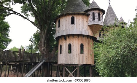 Castle treehouse