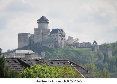 Castle in Trencin, Slovakia