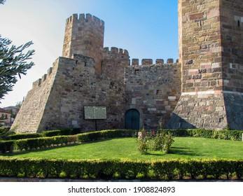 Çandarlı Castle in İzmir, Turkey.