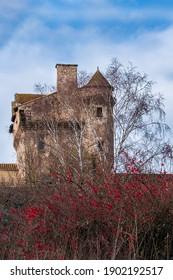 castle in the village of Varen - Shutterstock ID 1902192517