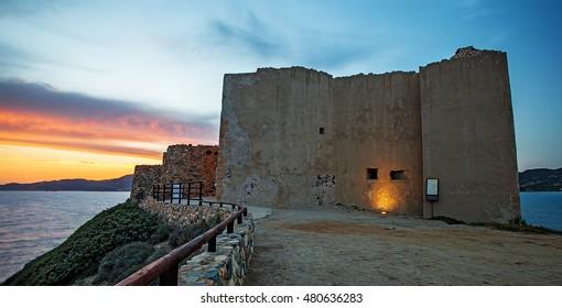 Castle of Villasimius, Sardinia, Italy