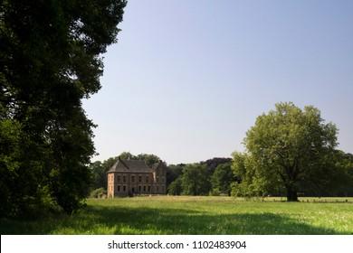 Castle Vorden near the eponymous village in the Gelder Achterhoek seen from the surrounding park