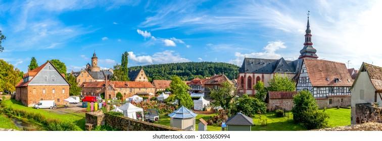 Büdingen, Castle, Wall, Germany