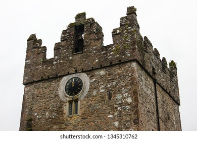 Castle Ward clock tower, County Down, Northern Ireland