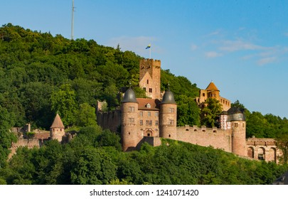 Castle at Wertheim Am Main, along the Main River, Germany