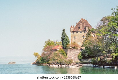 Castle of Yvoire in France