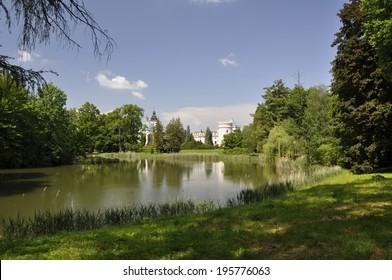 Castle (Zamek) Krasickich, Poland