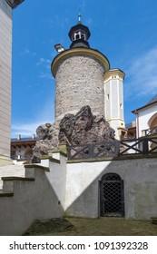 Castle Zbiroh in western Bohemia, Czech republic
